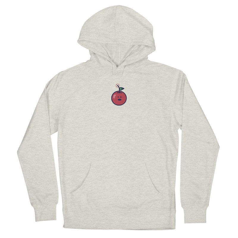 Cherry Bomb Men's French Terry Pullover Hoody by lunchboxbrain's Artist Shop