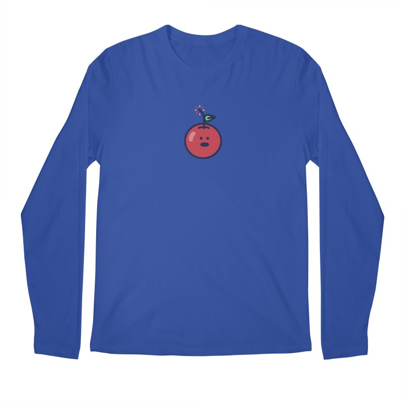 Cherry Bomb Men's Longsleeve T-Shirt by lunchboxbrain's Artist Shop