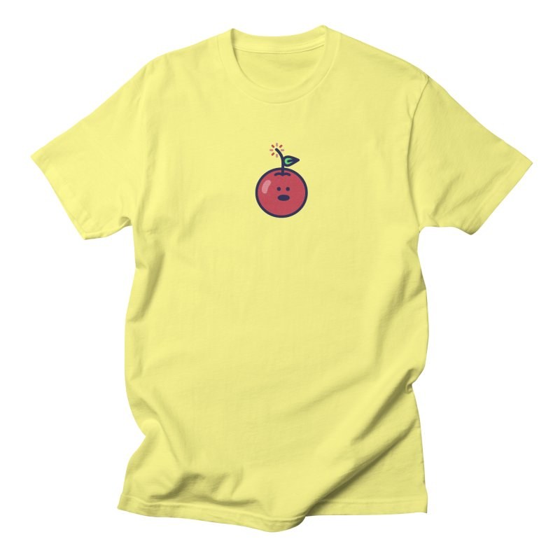 Cherry Bomb Men's Regular T-Shirt by lunchboxbrain's Artist Shop