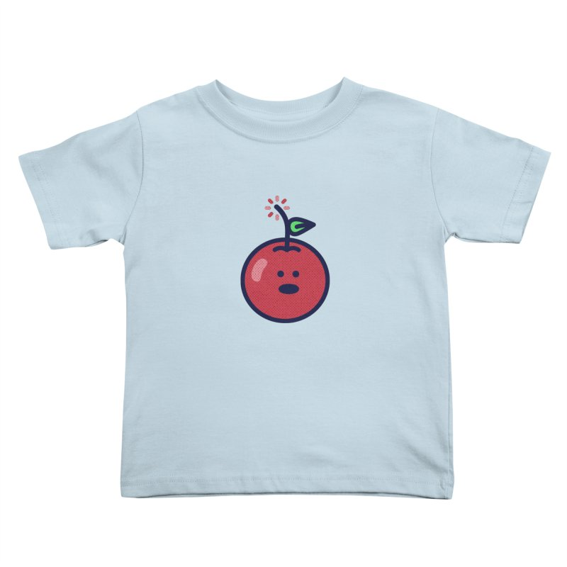 Cherry Bomb Kids Toddler T-Shirt by lunchboxbrain's Artist Shop