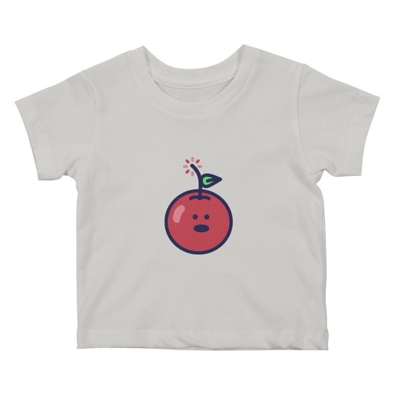 Cherry Bomb Kids Baby T-Shirt by lunchboxbrain's Artist Shop