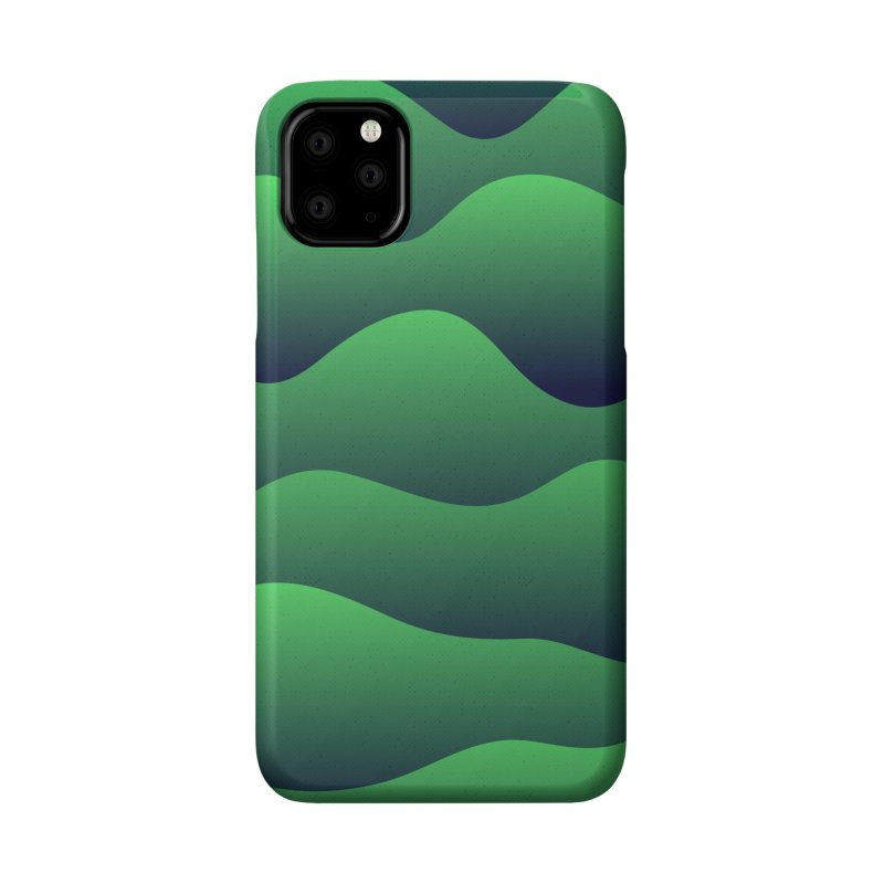 Emerald Hills Accessories Phone Case by lunchboxbrain's Artist Shop