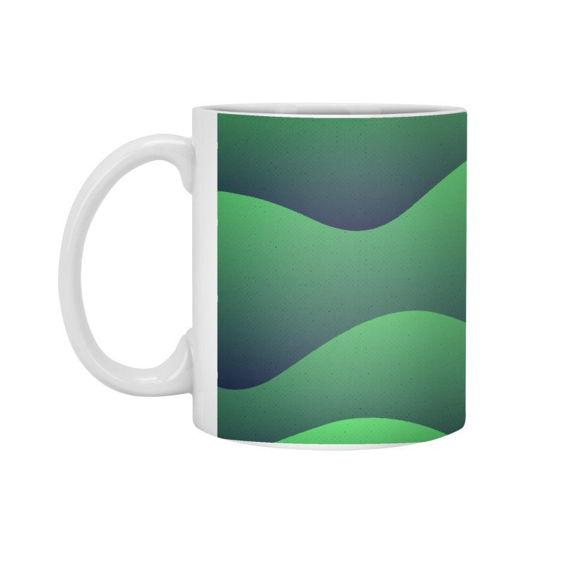 Emerald Hills Accessories Standard Mug by lunchboxbrain's Artist Shop