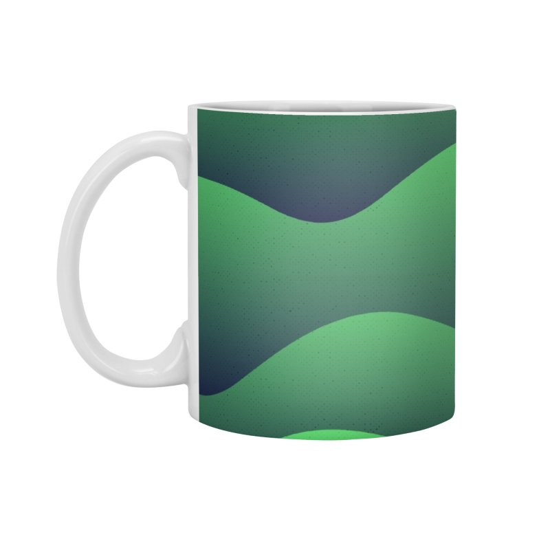 Emerald Hills Accessories Mug by lunchboxbrain's Artist Shop