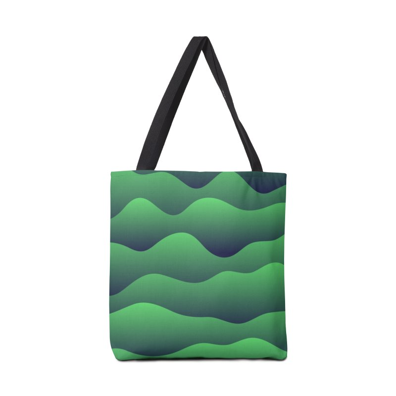 Emerald Hills Accessories Tote Bag Bag by lunchboxbrain's Artist Shop