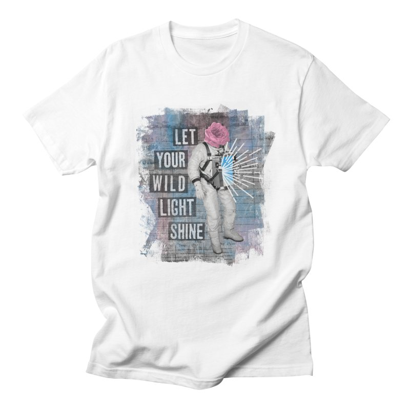 Let Your Wild Light Shine Women's Unisex T-Shirt by lunchboxbrain's Artist Shop