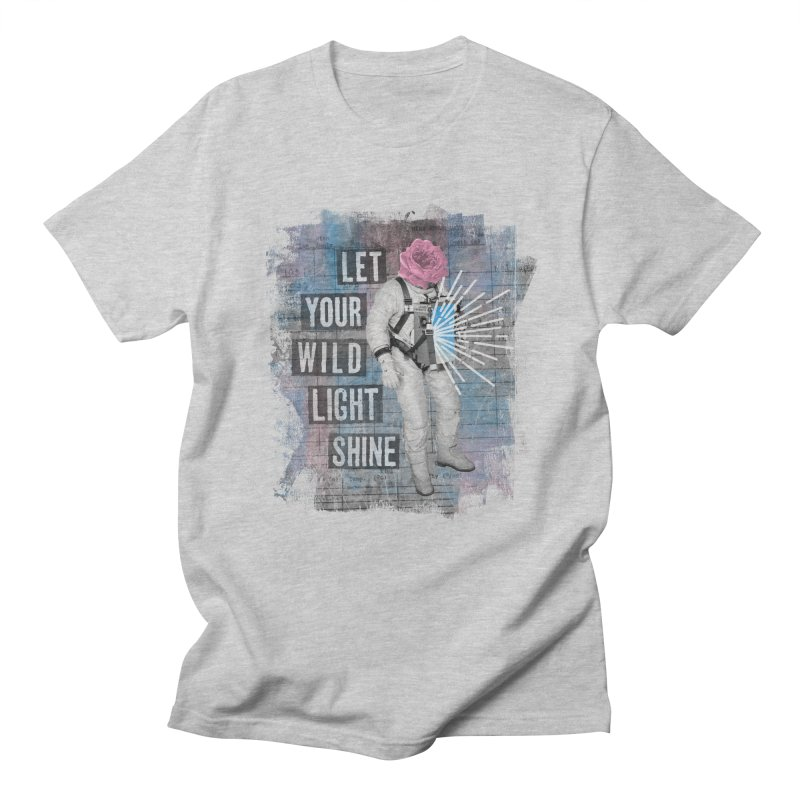 Let Your Wild Light Shine Men's T-Shirt by lunchboxbrain's Artist Shop