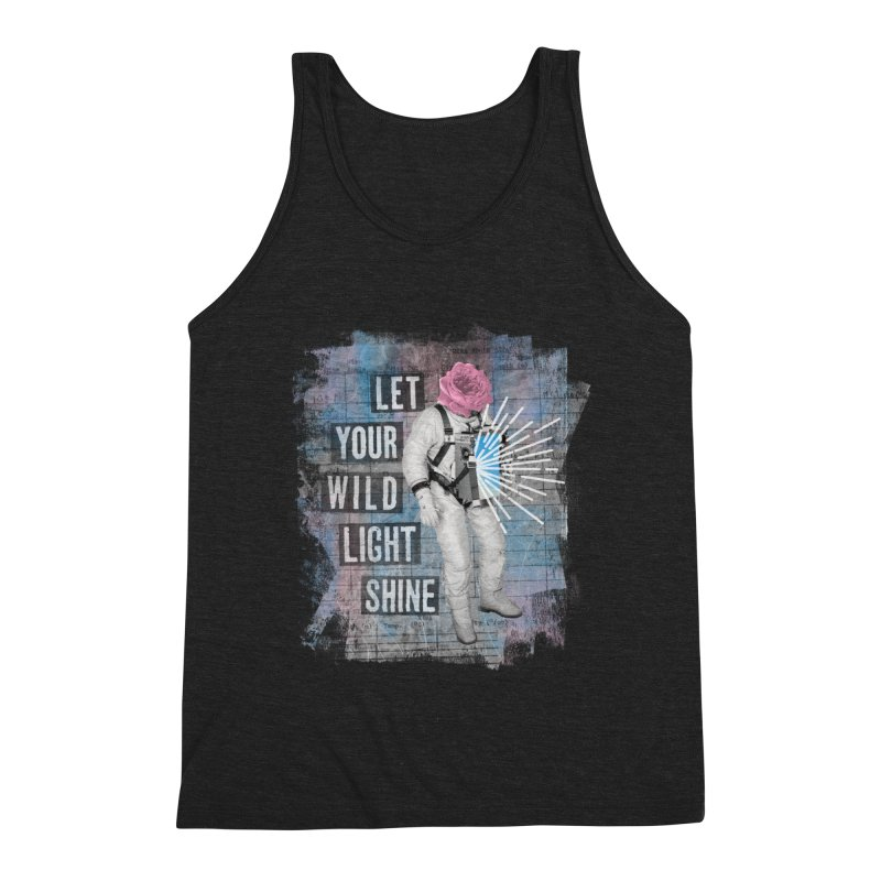 Let Your Wild Light Shine Men's Tank by lunchboxbrain's Artist Shop