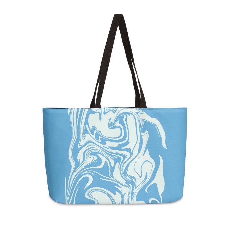 Hudson Swirl Accessories Weekender Bag Bag by lunchboxbrain's Artist Shop
