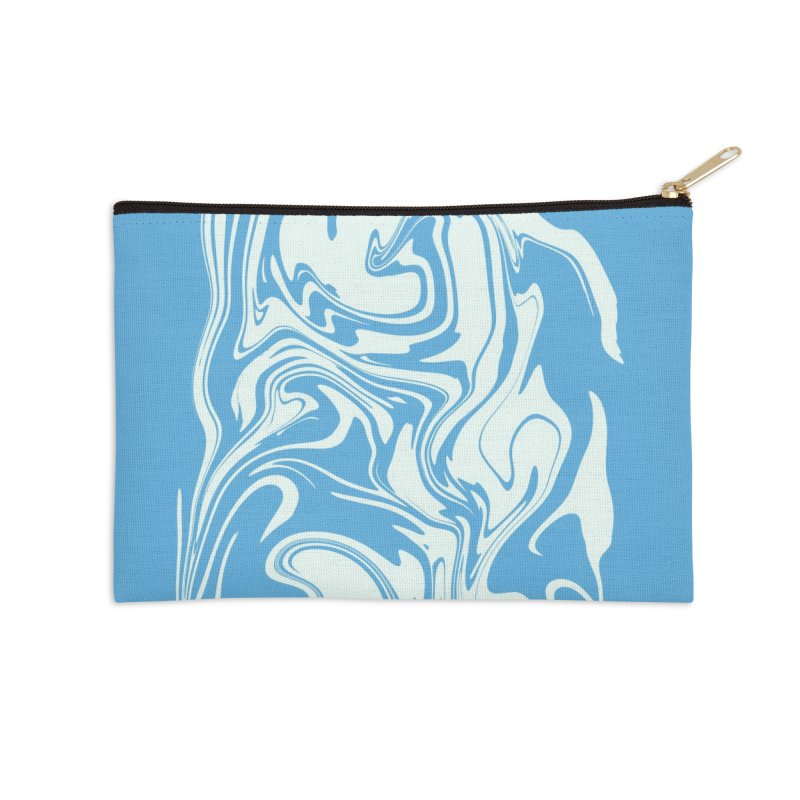 Hudson Swirl Accessories Zip Pouch by lunchboxbrain's Artist Shop