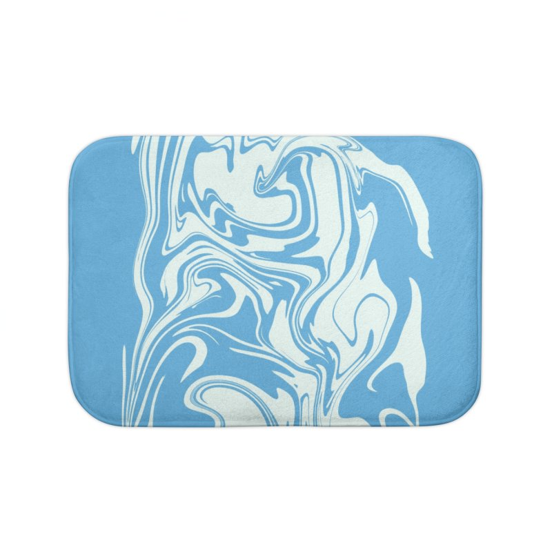 Hudson Swirl Home Bath Mat by lunchboxbrain's Artist Shop