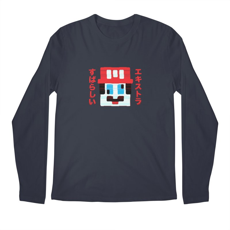 Extra Super Bro Men's Longsleeve T-Shirt by lunchboxbrain's Artist Shop