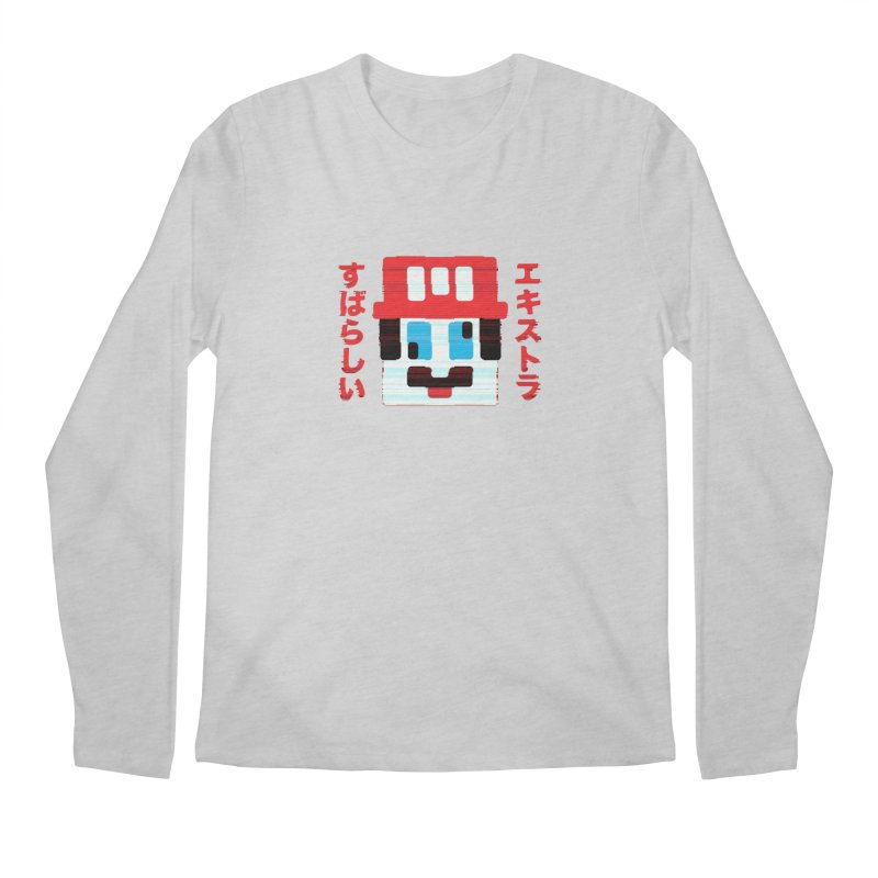 Extra Super Bro Men's Regular Longsleeve T-Shirt by lunchboxbrain's Artist Shop