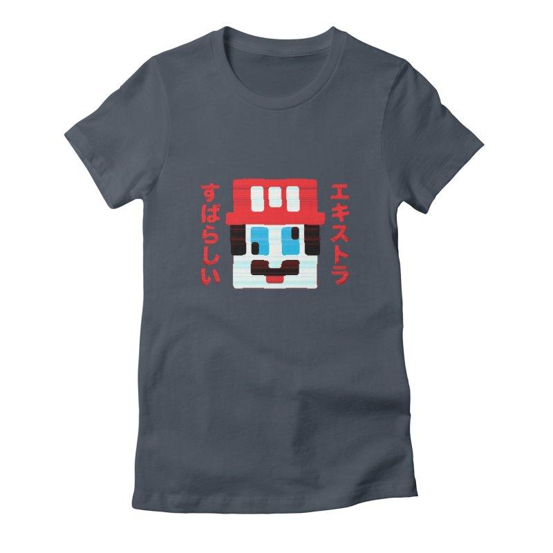 Extra Super Bro Women's T-Shirt by lunchboxbrain's Artist Shop