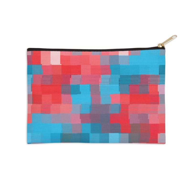 Glitcheru Accessories Zip Pouch by lunchboxbrain's Artist Shop