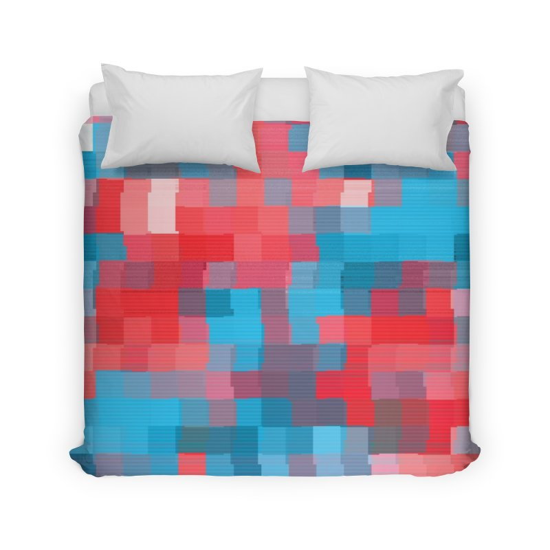 Glitcheru Home Duvet by lunchboxbrain's Artist Shop