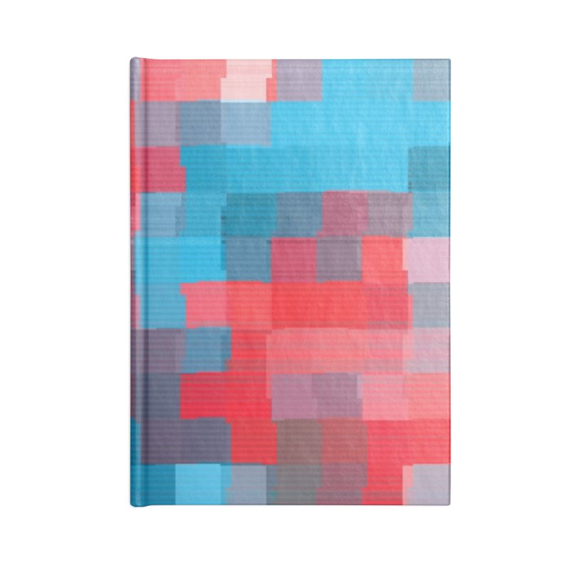 Glitcheru Accessories Blank Journal Notebook by lunchboxbrain's Artist Shop