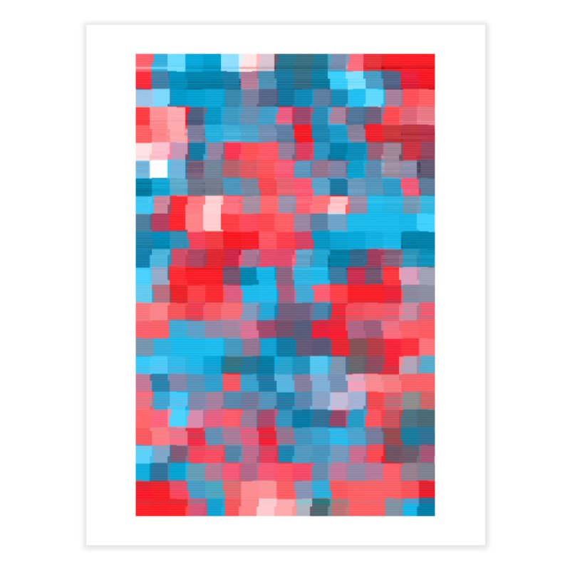 Glitcheru Home Fine Art Print by lunchboxbrain's Artist Shop