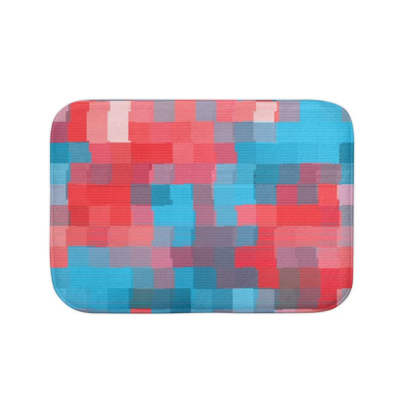 Glitcheru Home Bath Mat by lunchboxbrain's Artist Shop