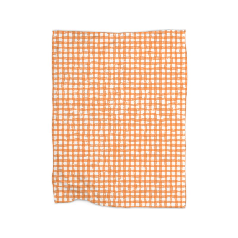 Gingham Patch Home Blanket by lunchboxbrain's Artist Shop