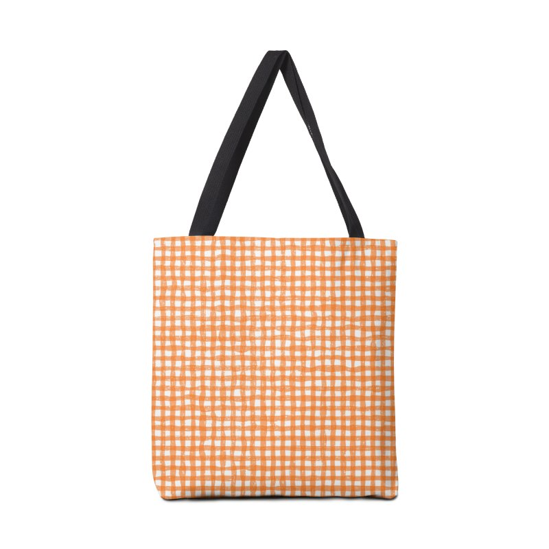 Gingham Patch Accessories Tote Bag Bag by lunchboxbrain's Artist Shop