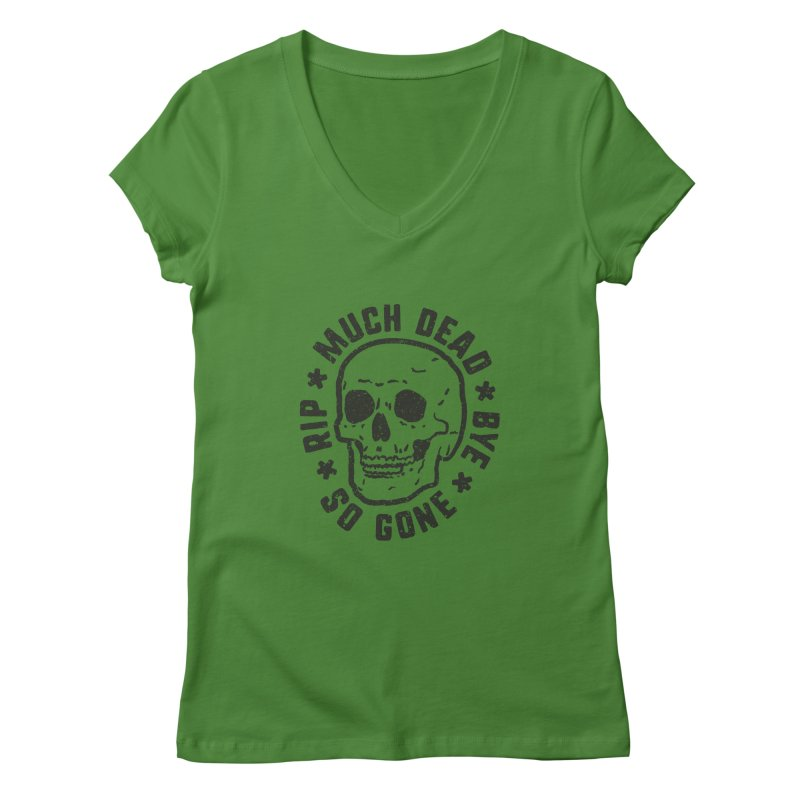 So Gone Women's Regular V-Neck by lunchboxbrain's Artist Shop