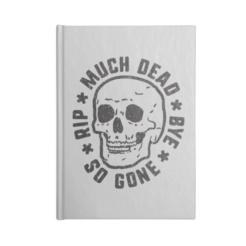 So Gone Accessories Lined Journal Notebook by lunchboxbrain's Artist Shop