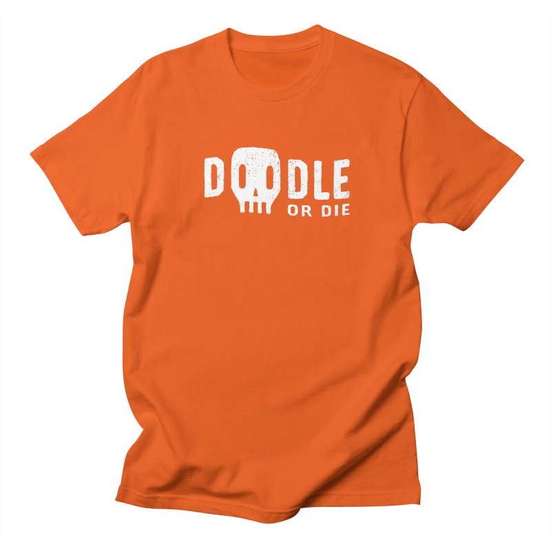 Doodle or Die Men's T-Shirt by lunchboxbrain's Artist Shop