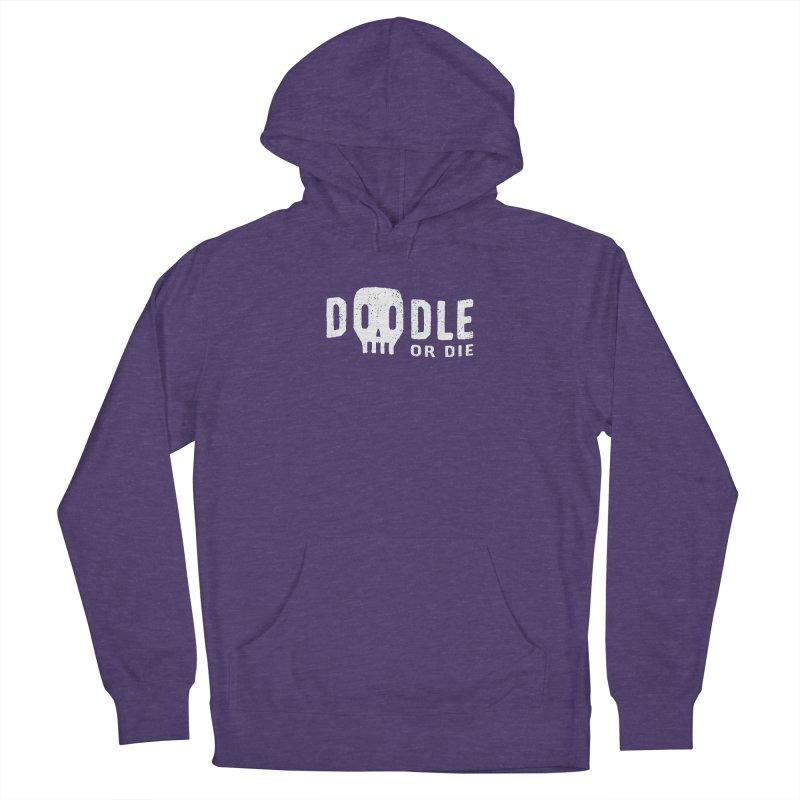 Doodle or Die Men's Pullover Hoody by lunchboxbrain's Artist Shop