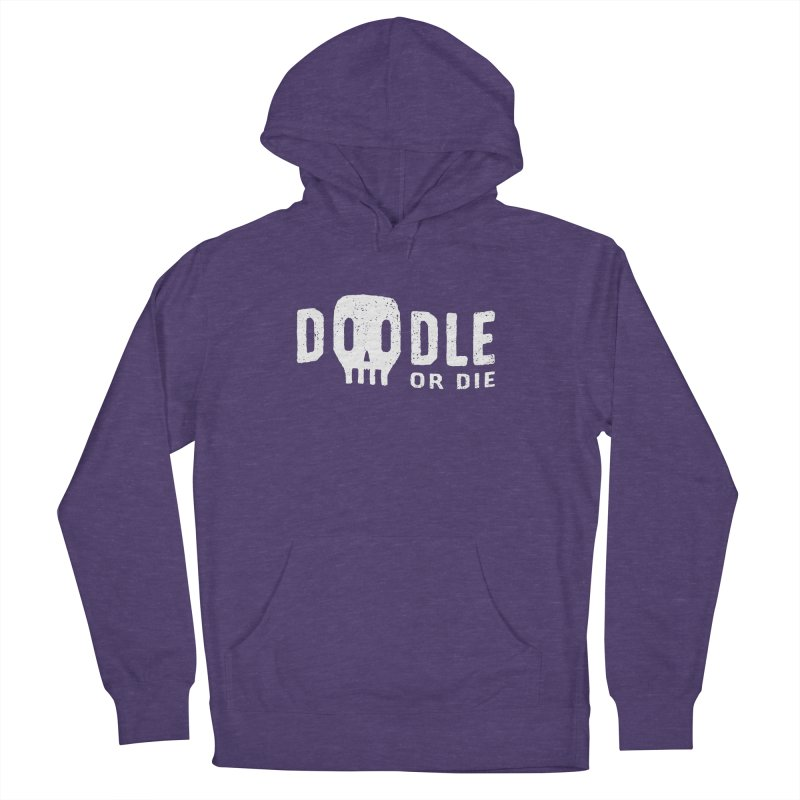 Doodle or Die Women's French Terry Pullover Hoody by lunchboxbrain's Artist Shop