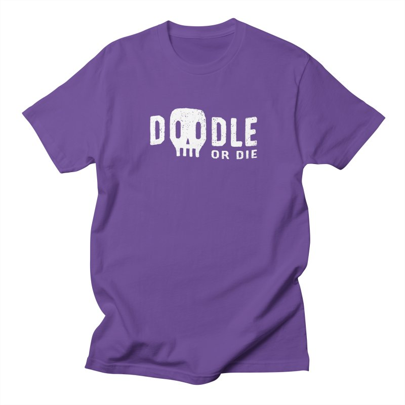 Doodle or Die Men's Regular T-Shirt by lunchboxbrain's Artist Shop