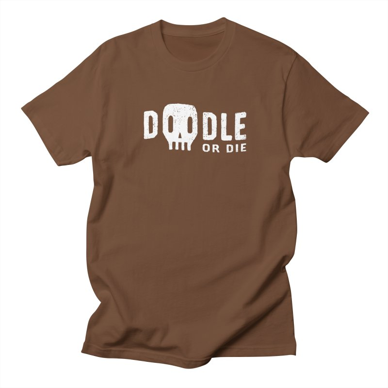 Doodle or Die Women's Unisex T-Shirt by lunchboxbrain's Artist Shop