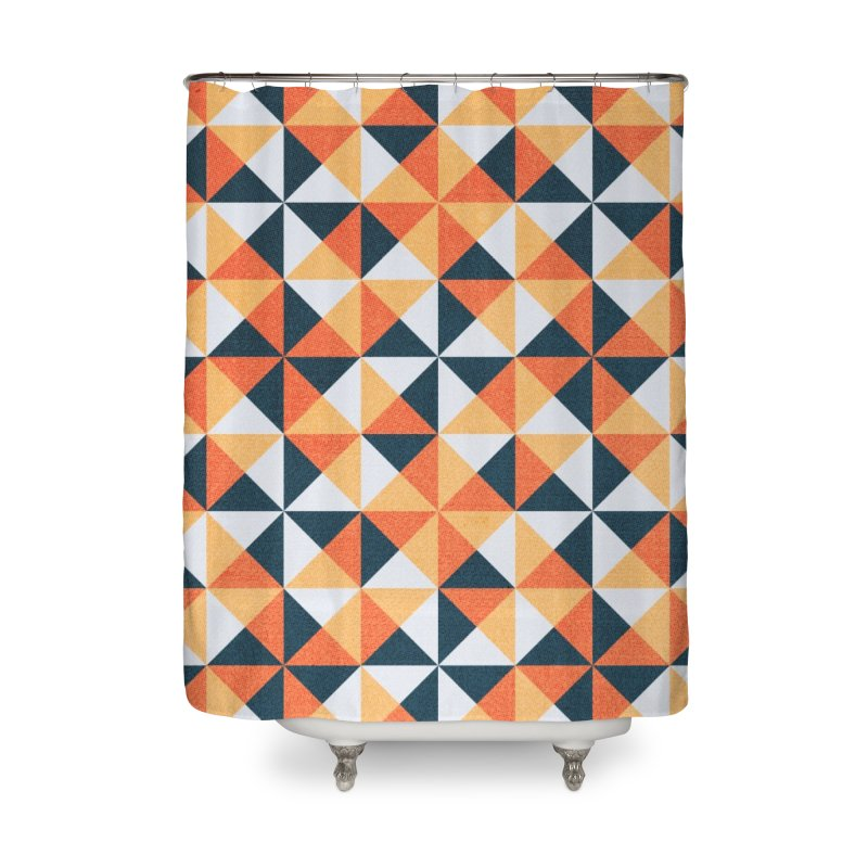 Hollow Harvest Home Shower Curtain by lunchboxbrain's Artist Shop