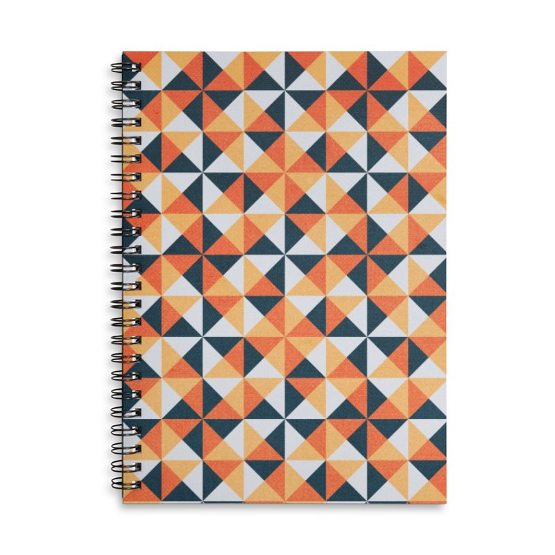 Hollow Harvest Accessories Lined Spiral Notebook by lunchboxbrain's Artist Shop