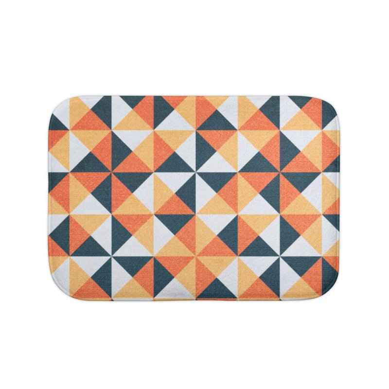 Hollow Harvest Home Bath Mat by lunchboxbrain's Artist Shop
