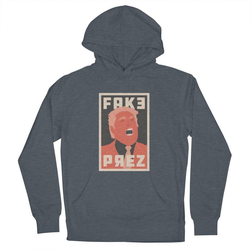Fake Prez Women's Pullover Hoody by lunchboxbrain's Artist Shop