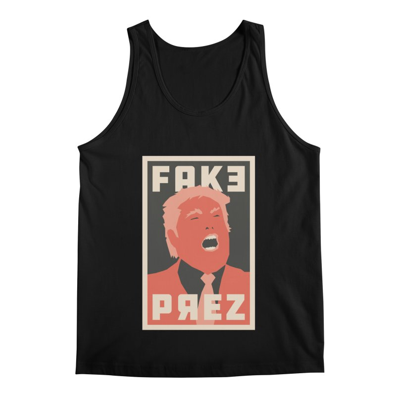 Fake Prez Men's Tank by lunchboxbrain's Artist Shop