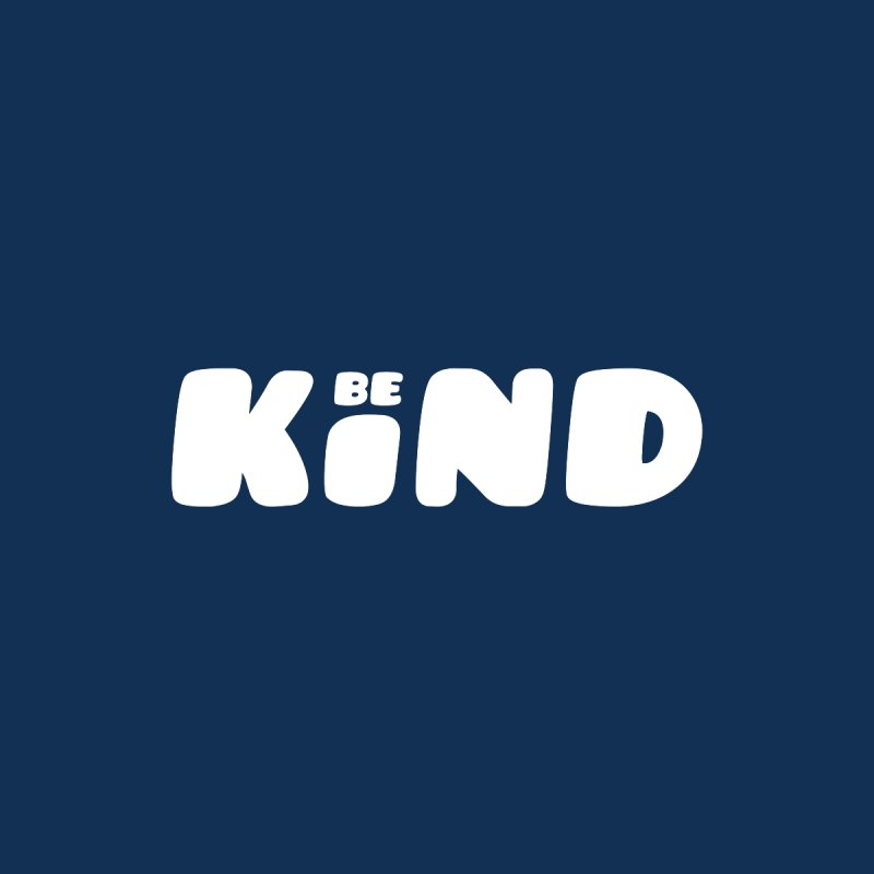 Be Kind Men's Pullover Hoody by lunchboxbrain's Artist Shop
