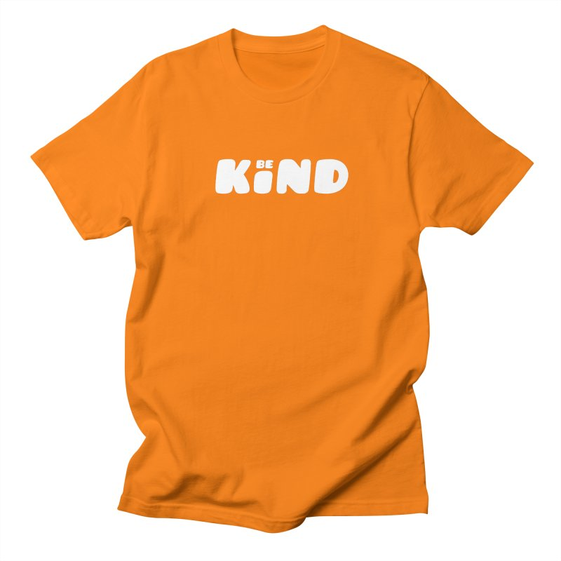 Be Kind Men's Regular T-Shirt by lunchboxbrain's Artist Shop