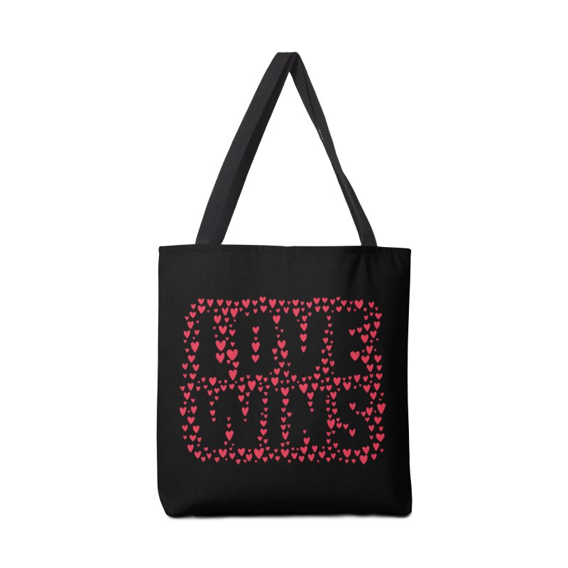 Love Wins Accessories Bag by lunchboxbrain's Artist Shop