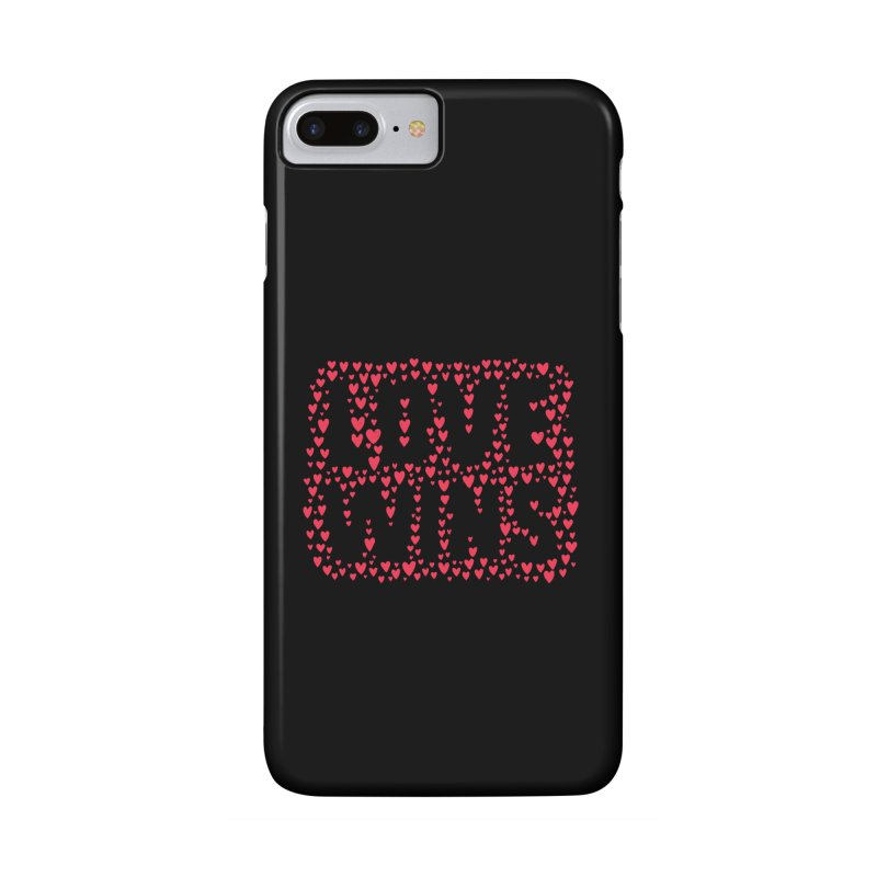 Love Wins Accessories Phone Case by lunchboxbrain's Artist Shop