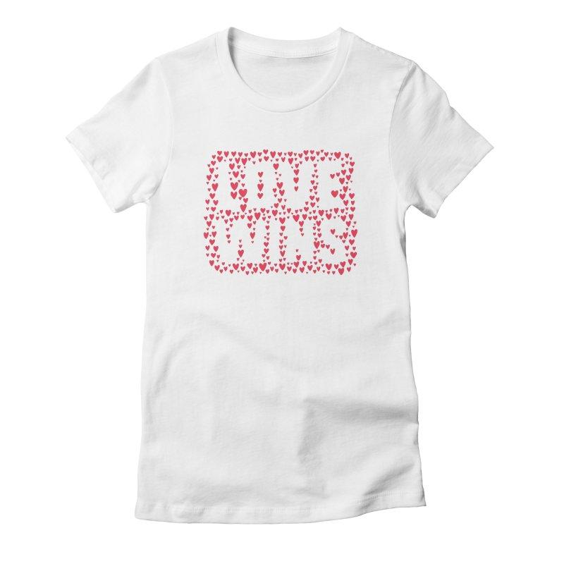 Love Wins Women's T-Shirt by lunchboxbrain's Artist Shop