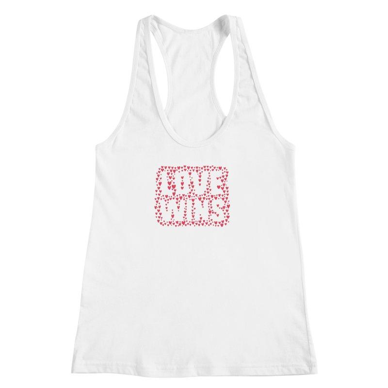 Love Wins Women's Racerback Tank by lunchboxbrain's Artist Shop