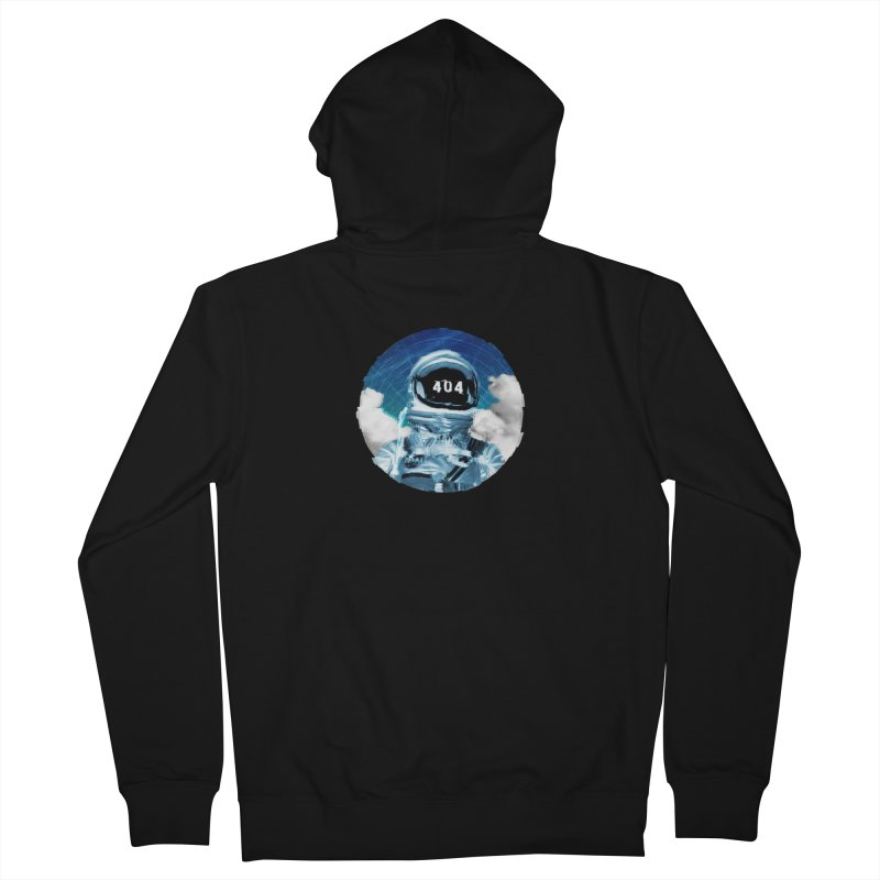 Not Found Men's Zip-Up Hoody by lunchboxbrain's Artist Shop