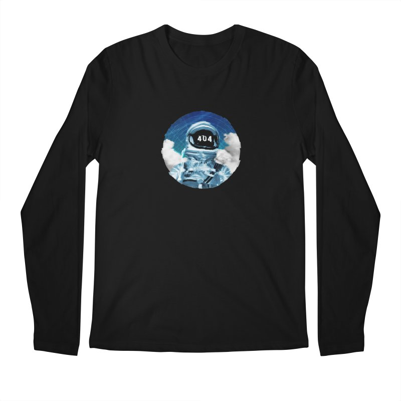Not Found Men's Regular Longsleeve T-Shirt by lunchboxbrain's Artist Shop