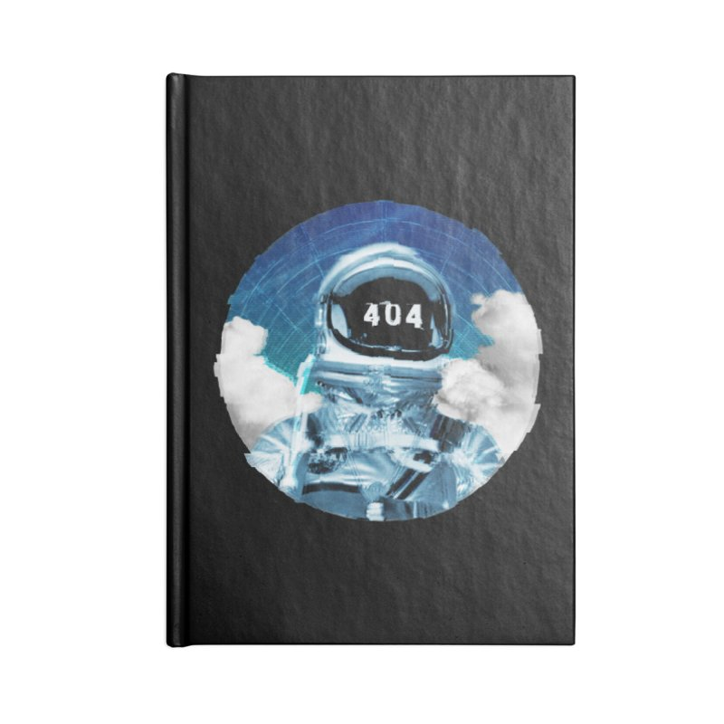 Not Found Accessories Blank Journal Notebook by lunchboxbrain's Artist Shop