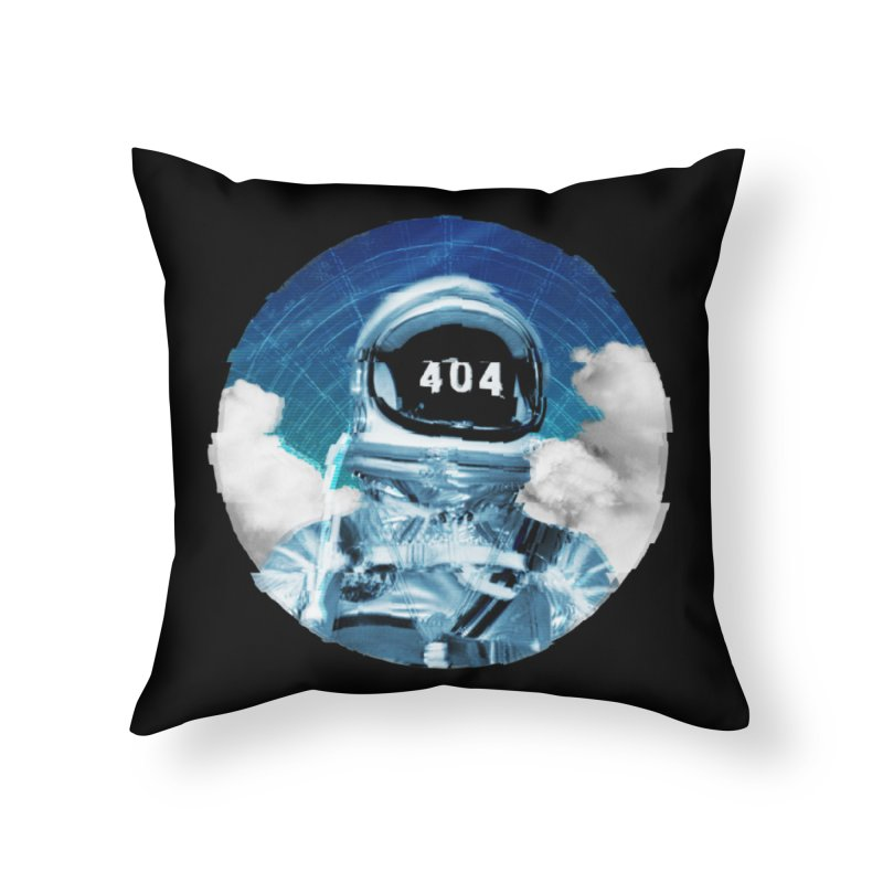 Not Found Home Throw Pillow by lunchboxbrain's Artist Shop