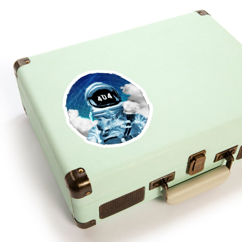 Not Found Accessories Sticker by lunchboxbrain's Artist Shop