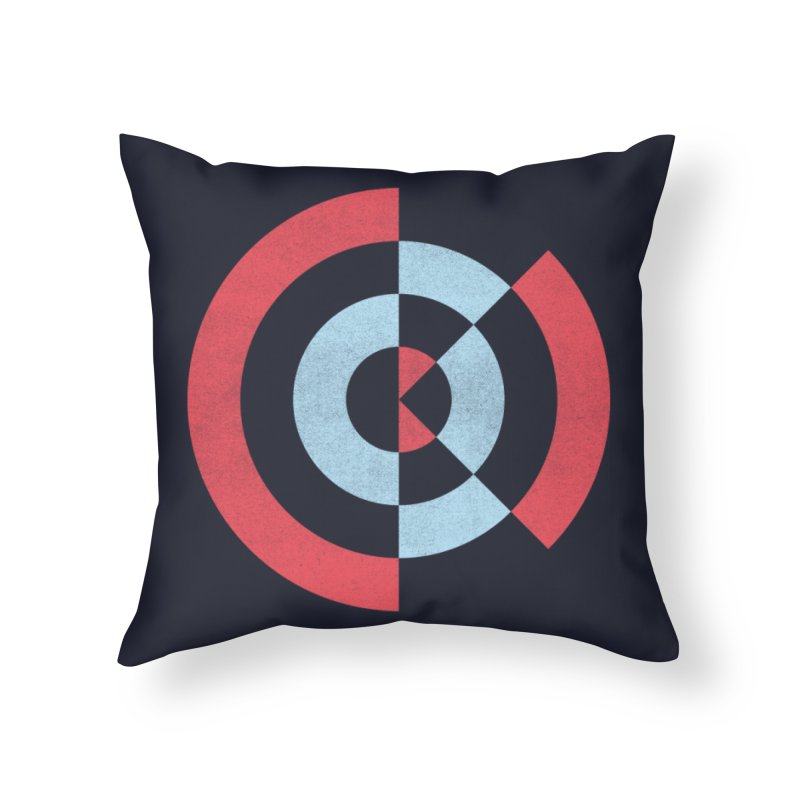 Still OK Home Throw Pillow by lunchboxbrain's Artist Shop
