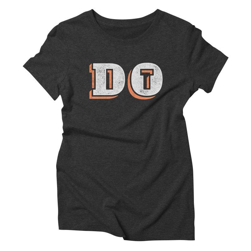 Do It Women's Triblend T-Shirt by lunchboxbrain's Artist Shop
